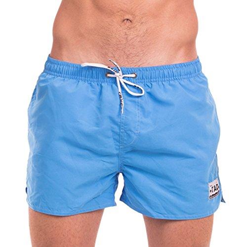 3b9f48bee16 Taddlee Men's Beach Board Shorts Swimwear Swimsuits Swim Surfing Boxer  Trunks (XL, Blue)