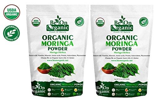 photo Wallpaper of Be On Organic-Be On Organic Moringa Leaf Powder (2 X12 Oz) 24 Oz-