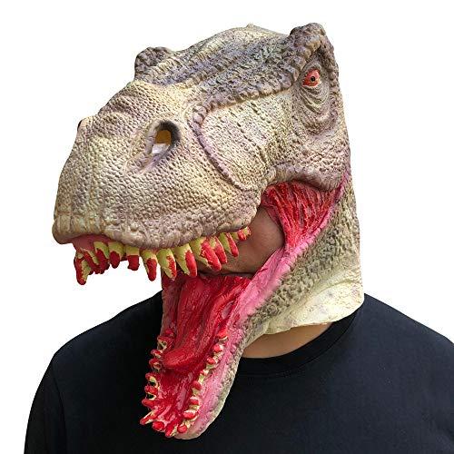 LiPing Bloody Zombie Mask Melting Face Latex Costume