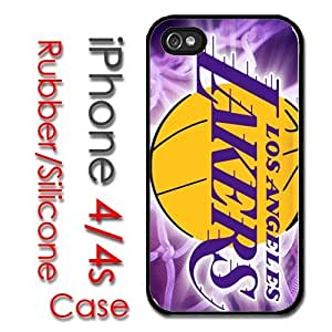 Case For Iphone 6 Plus (5.5 Inch) Cover Hard Silicone CaLos Angeles Lakers Basketball kobe nash