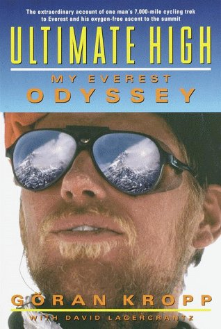 Book cover from Ultimate High: My Everest Odyssey by Goran Kropp