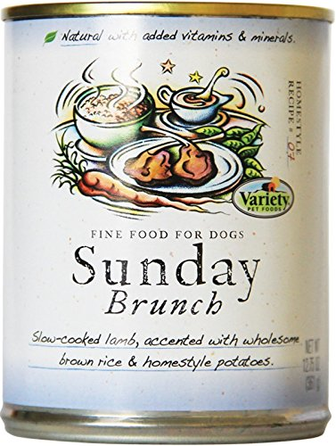 Delicious Mouth Watering Dishes (Homestyle Recipes, Sunday Brunch with Lamb, 12/12.75-Ounce Cans, Natural Dog Food)