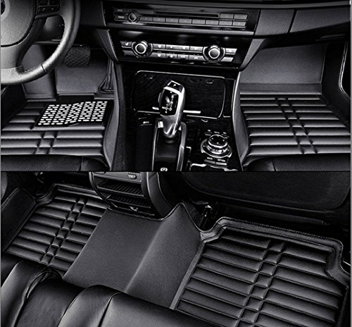 Auto Mall Custom Fit Heavy Duty Full Set Floor Mats Carpet