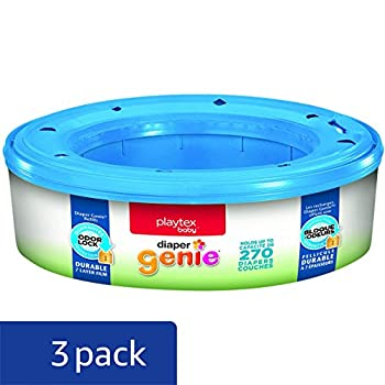 Playtex Diaper Genie Refills For Diaper Genie Diaper Pails - 270 Count (Pack Of 3) 1