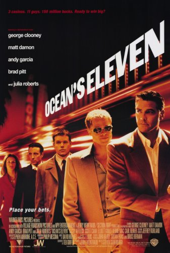 Image result for oceans eleven poster
