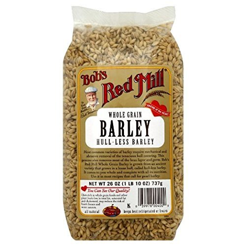 Bob's Red Mill Whole Hull-Less Barley 26 Oz (Pack Of 4)