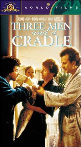 Three Men and a Cradle [VHS]