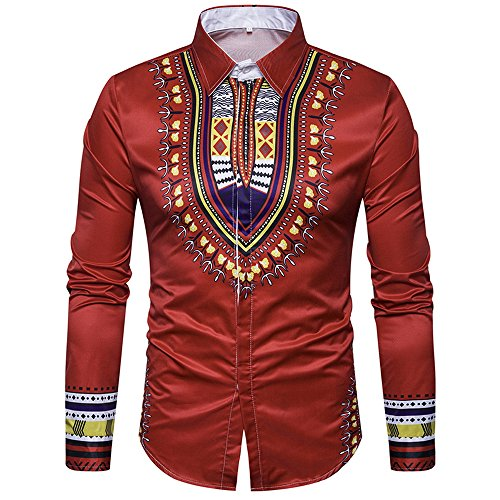 Autumn New Men's Solid Color Long-sleeved Jacket(Red) - 6