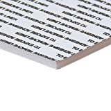 White 32 x 40 in. Foam Board with Self-Stick Permanent Adhesive