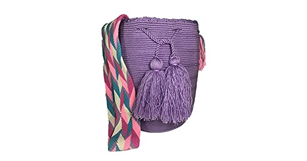 Amazon.com: Wayuu Mochila - Bolso de hombro grande, 100 ...