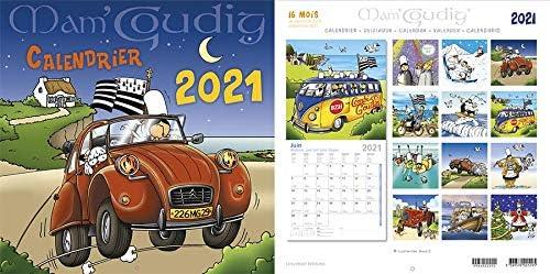2021 Brittany Calendar 30/30 cm Mam Goudig: Amazon.de: Bürobedarf