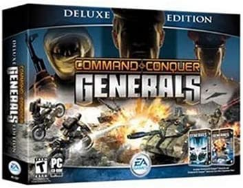 Amazon com: Command and Conquer Generals: Deluxe Edition