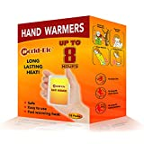 Disposable Hand Warmer Heating Pads, 20 Individual Warm Patch, Great for Cold Outdoor Activities, Camping, Hiking, Hunting, Snowboard, Tailgating in Chill Winter - 10 Pairs