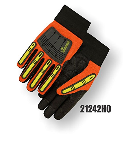 (12 Pair) Majestic ARMORSKIN PALM GLOVES WITH KNUCKLE & FINGER GUARDS - 3X LARGE(21242HO/13)