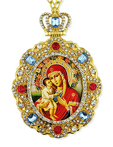 Virgin Mary Jesus Icon - 7