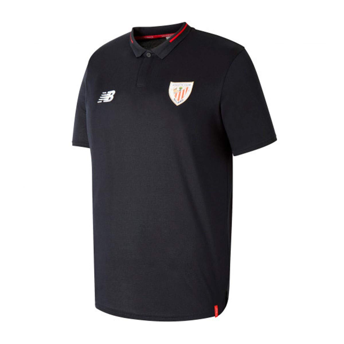 New Balance AC Bilbao Essentials 2018-2019, Polo, Black, Talla S ...