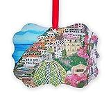 CafePress - Positano - Christmas Ornament, Decorative Tree Ornament