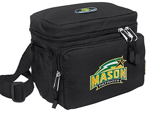 Broad Bay George Mason University Lunch Bag OFFICIAL NCAA GMU Lunchboxes by Broad Bay