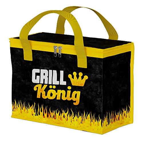 Preis am Stiel Kühltasche Grillkönig | Picknicktasche | Campingtasche | Outdoor | Isoliertasche | Kühlbox