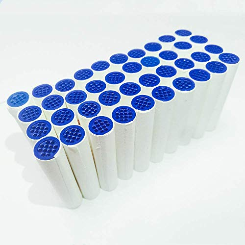 9mm Activated Carbon Pipe Filters for Tobacco Pipe Cigarette Holder 40piece