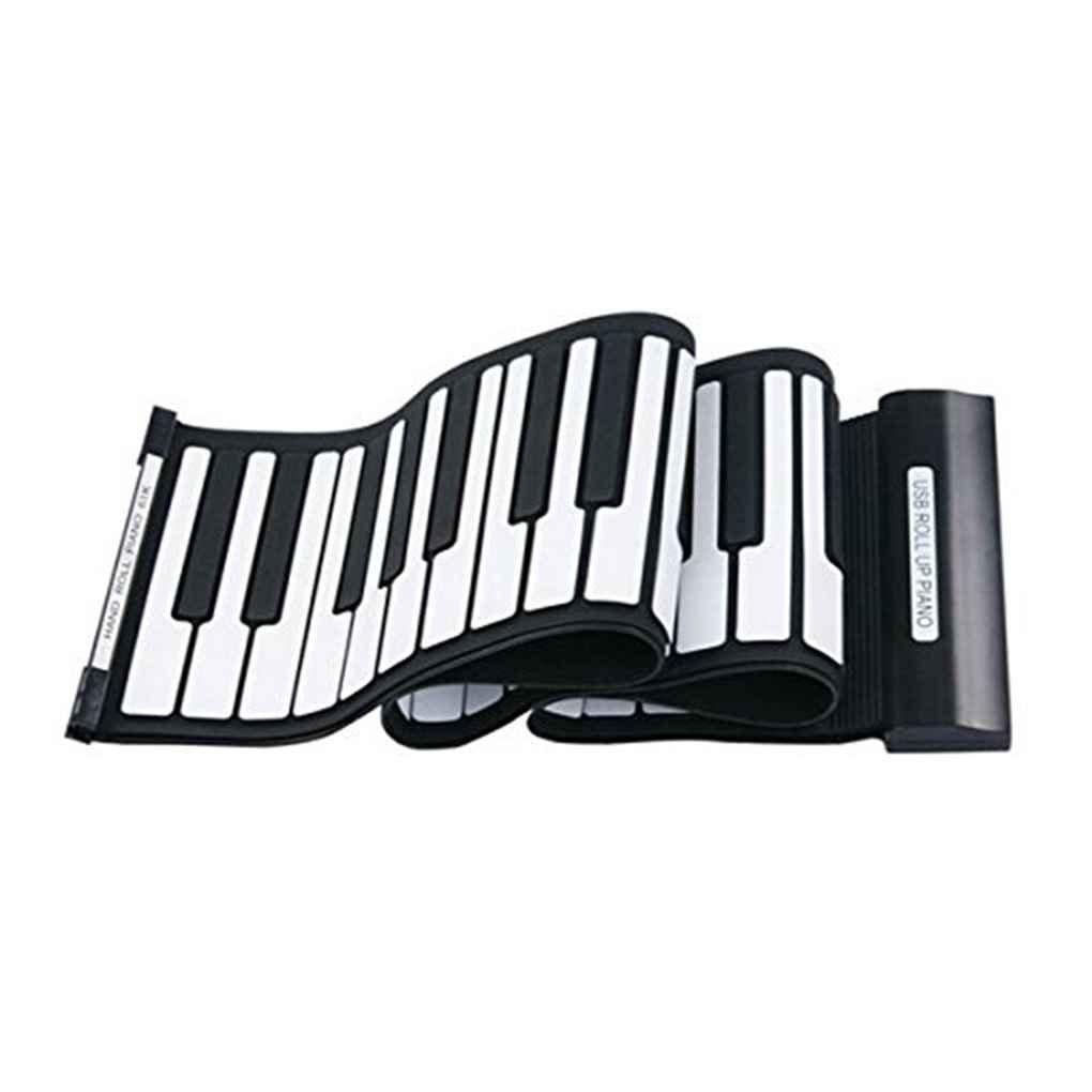 Elenxs 61 Key USB MIDI de instrumentos de silicona electrónica rueda para arriba el piano Reproducción Musical: Amazon.es: Instrumentos musicales