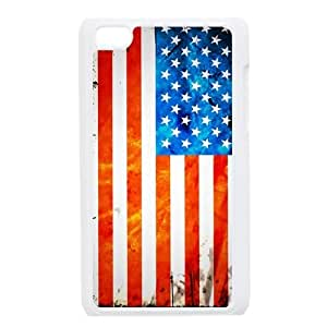 American Flag Unique Design Cover Case for Ipod Touch 4,custom case cover ygtg-774592