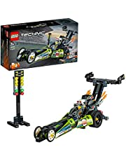 LEGO Technic Dragster 42103 Pull-Back Racing Toy Building Kit