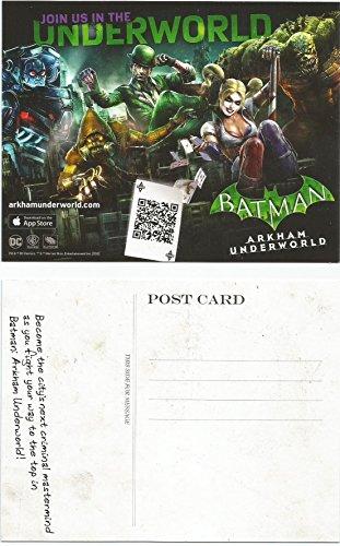 Batman Arkham Underworld POST CARD SD Comic Con 2016 Harley Quinn