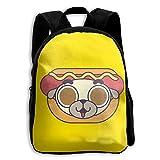Bear Lovely Kids Backpacks Double Shoulder Print School Bag Travel Gear Daypack Gift