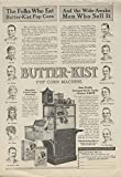 Butter-Kist Popcorn Machine by Holcomb & Hoke