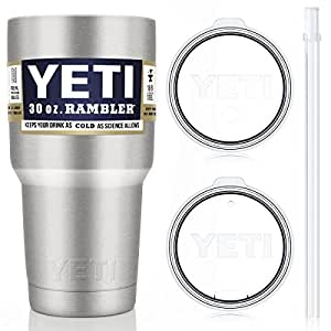 YETI Tumbler with Straw Lid Set (2 Lids Included), 30 oz.