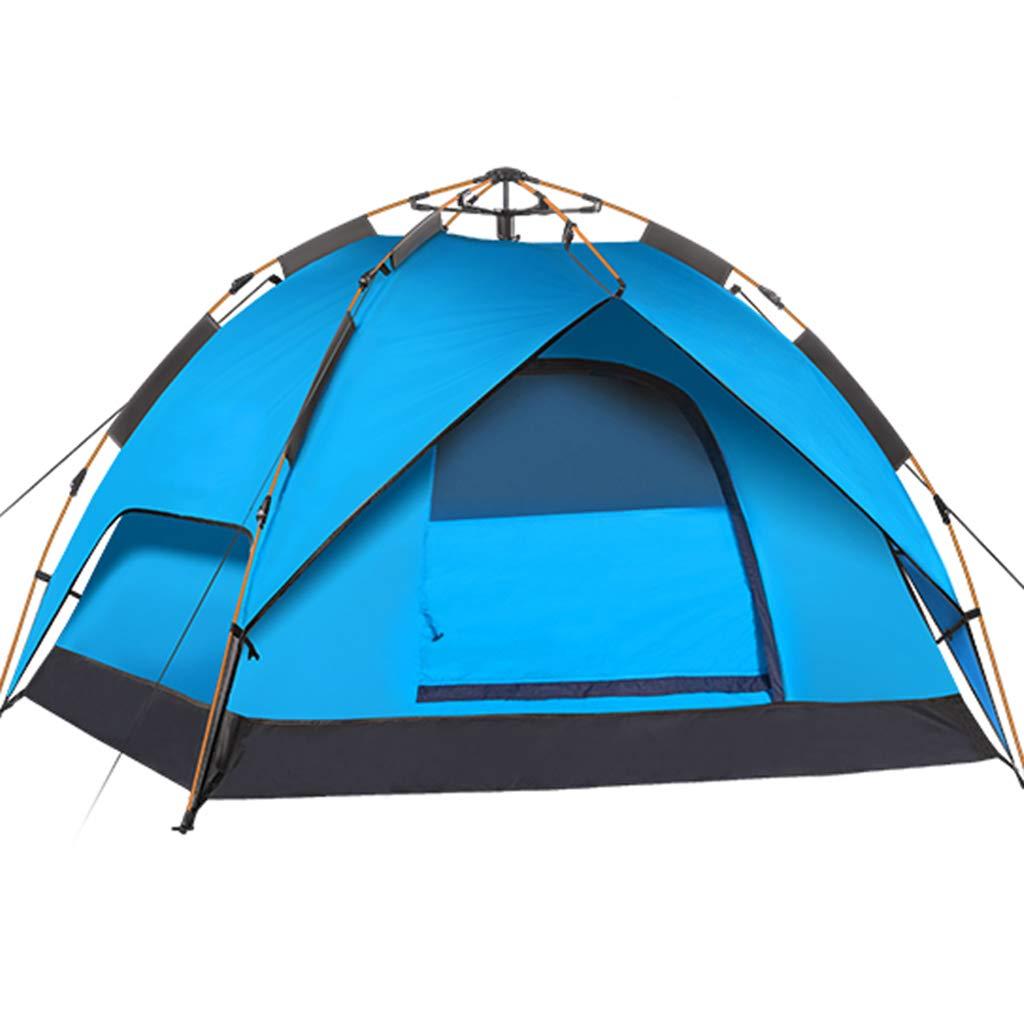 YaNanHome Zelt des Zeltes im Freien automatisches hydraulisches Zelt 2-3 Leutefreizeitzelt-kampierendes Zeltmehrfarben wahlweise freigestellt (Farbe : Blau, Größe : 210  180  130cm)