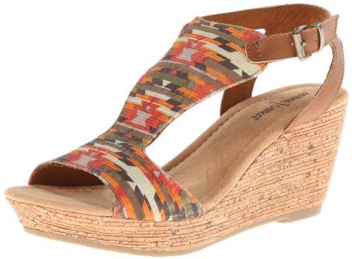 Minnetonka Women's Duffy Wedge Sandal