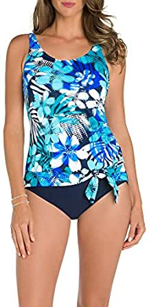 Paradise Bay Womens Mesh Well One Piece Swimsuit at Amazon
