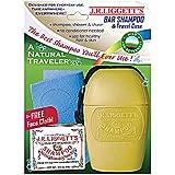 J.R. Liggett's Bar Shampoo & Travel Case, Natural Traveler