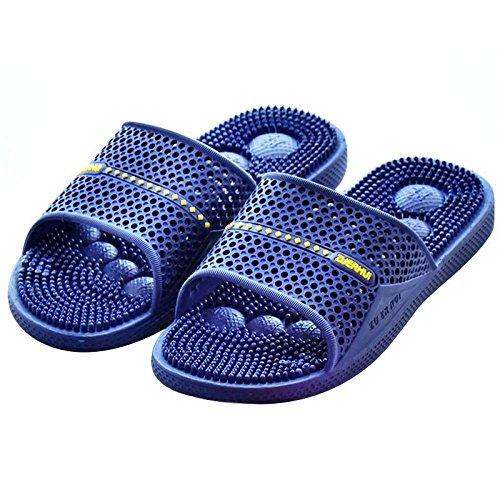 Masaje HONG JIA Sapphire Sole Antideslizante Masaje Cobblestone Antideslizante Zapatos 40 Home Sole 40 Sapphire Zapatillas Cosycorn Inicio BSwASPqdx