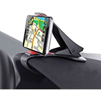 Tobbiheim Cell Phone Holder for Car HUD Adjustable Dashboard Non-Slip Phone Mount for Safe Driving Car Mount Compatible with iPhone 7 / 7 Plus / SE / 6s / 6s Plus / 5s / 4s Samsung Galaxy S8 / S7 / S6