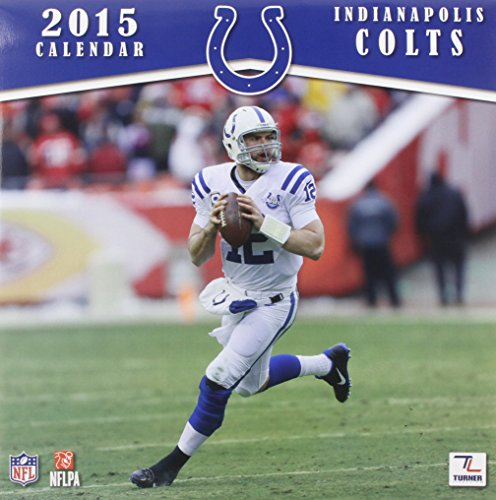 Indianapolis Colts 2015 Calendar by Perfect Timing