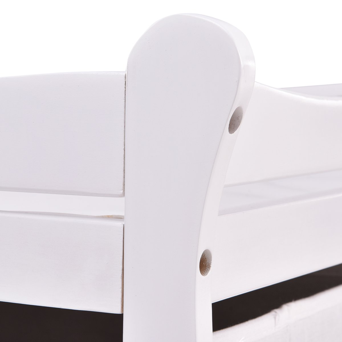Costzon Baby Changing Table Infant Diaper Nursery Station w/6 Basket Storage Drawers (White) by Costzon (Image #4)
