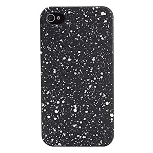 Dots Pattern Hard Case for iPhone 4 and 4S (Assorted-Colors) --- COLOR:Blue