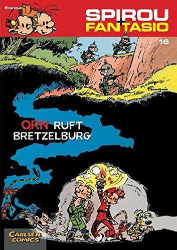 Spirou & Fantasio 16: QRN ruft Bretzelburg: (Neuedition) Taschenbuch – 22. Dezember 2003 André Franquin Carlsen 3551772169 Belletristik