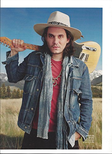 2012 Magazine Photo With John Mayer In ()