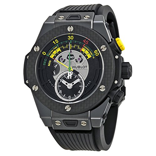 Hublot Big Bang Unico Bi-Retrograde FIFA 2014 Black Dial Mens Watch 412CQ1127RX
