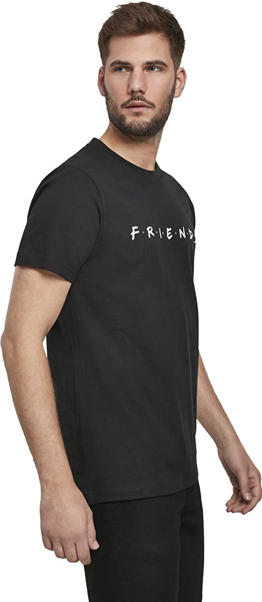 MERCHCODE Friends Logo Camiseta Hombre