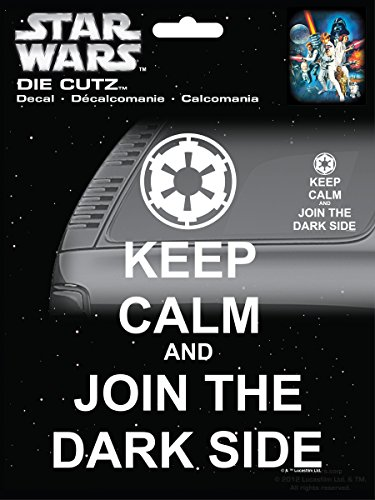 - CHROMA 40019 Star Wars Keep Calm Dark Side Die Cutz Decal