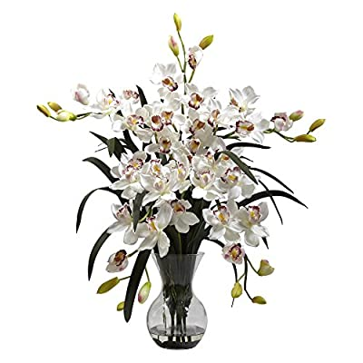 Nearly Natural Large Cymbidium Silk Flower