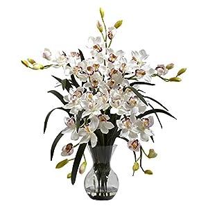 Nearly Natural Large Cymbidium Silk Flower 78