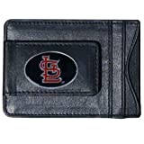 MLB St. Louis Cardinals Mlb Leather Cash and Card Holder