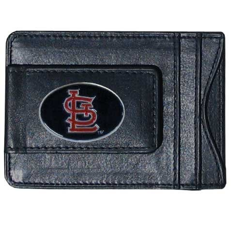 Siskiyou MLB St. Louis Cardinals MLB Leather Cash and Card Holder