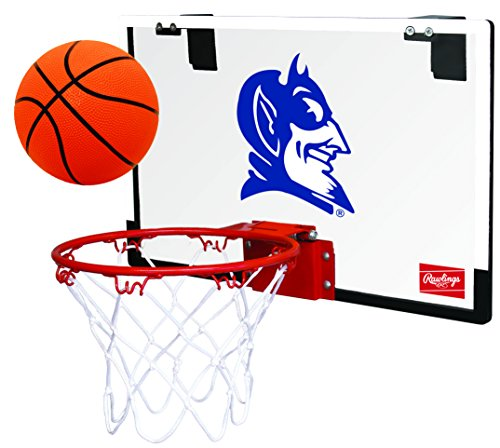 NCAA Duke Devils 00673016111NCAA Game On Polycarbonate Hoop Set (All Team Options), Blue, Youth